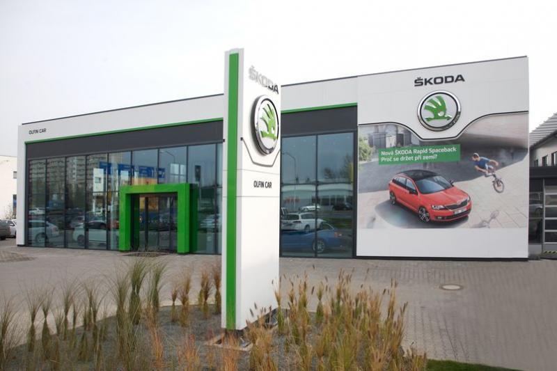 Autosalon Škoda v Hradci Králové