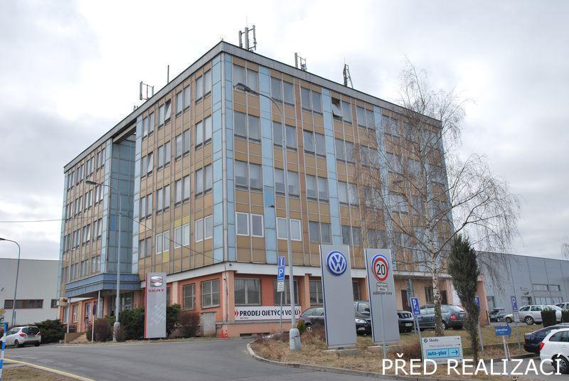 DaněkDesign - Autosalon Klokočka, Rekonstrukce administrativní budovy v Praze